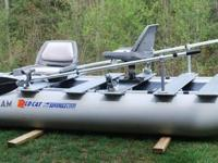 Inflatable Boat 12 Foot 375fc FoldCat Deluxe Package by