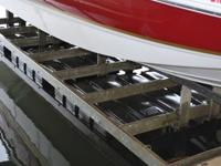 Hewitt Boat PortAccommodates boats up to 28 ft. and