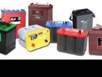 We stock reconditioned and new batteries for most make