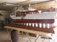 A chance of a life time to own a boat model built by