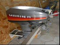 Mariner boat motor. 8HP. Two-stroke long shaft. This
