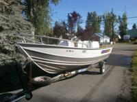 151/2' Klamath Boat w/E-Z Loader Trailer - $4,000.