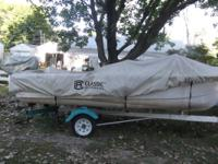 1960' STARCRAFT W/1960' EVINRUDE LARK 35 AND