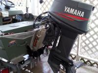 2005 Alweld Welded Aluminum boat with 1999 50hp Yamaha