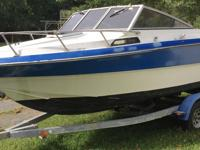21 foot Cabin Cruiser, Trailer, and 200 HP 1998 Johnson