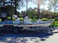 Shoalwater Boat 19ft. Stealth 1995, new stickers. 115