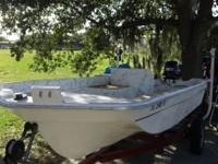 For Sale -- Boat, Motor & Trailer Boat is a 1986 15.5