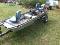 $700 OBO I have a 12' flat bottom jon boat. This has