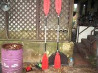 brake apart oars $25 apiece $40 for the pair call Carl