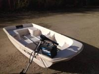 4 person boat ,approx 500 wght limit -used once