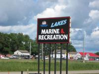 LAKES MARINE & RECREATION! Highway 10 in Lake Park.  We