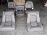 Included for sale is a set of seats all for $150 that