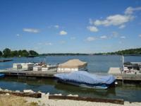 Private family owned marina with waterfront gas,