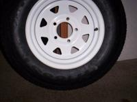 We sell tires for travel trailers , utility trailers
