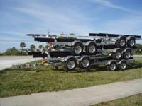 Boat Trailer 21' - 24' 6000LB Tandem - NEW 2013 w/ Disc