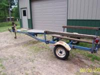 900 # load trailer. Measures 14' from bow bumper to