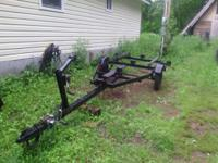 Boat trailer  12' or 14 ' boat  is a tilt for