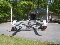 ESCORT GALVANIZED BOAT TRAILER :  VERY GOOD