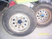I have four tires and wheels for sale  p205/75 r 14
