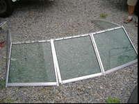 $100/each obo, One Boat Windshield with center glass