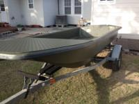 Carolina SkiffCarolina Skiff J14 just painted and a new