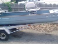 i have a coleman crawdad boat with a boat trailer and