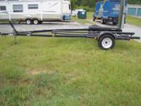Boat trailer by Marine Trailers Inc for a 16' to 18'