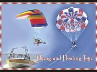 Flying and Drifting Toys leases pontoon watercrafts,