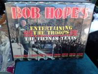 Bob Hope VHS Set for sale, good condition, set of 9.