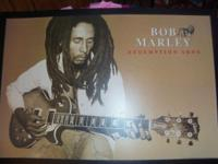 bob marley poster size picture in frame i think its