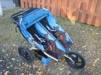 BOB Sport Utility Double Stroller. Excellent Condition!