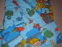Bob the Builder Twin Reversible Comforter and Twin