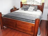 I have a like new Timberlake Cherry King bed for sale,