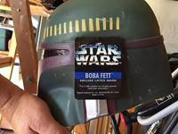 Unused Boba Fett Helmet.Item is made out of a flexible