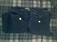 I have 2 pair of dark blue Bobbie Brooks jeans, size