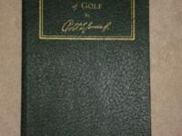 The Rights and Wrongs of Golf by Bobby Jones. Rare 1935