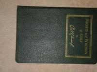 "Rare 1935 first edition of ""Rights and wrongs of Golf"