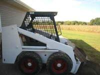 "Bobcat 630 skid steer with 30 hp engine 54"" bucket with"