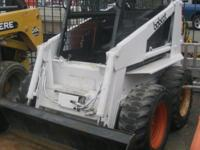 Bobcat 743 Skid Steer Loader Cost: $9999. Product #: i.