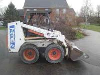 Bobcat 743B in excellent working condition. Kubota
