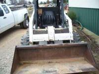 Bobcat skid steer 763 1000hours 11,950 call