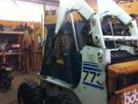 heres a nice cheap good running loader, its a bobcat