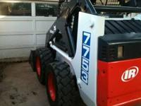1998 Bobcat 7753 smooth bucket with new paint, new
