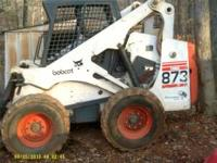 2001 BOBCAT 873G, ONE OWNER, BOUGHT NEW, BLOWN MOTOR,