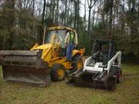 Small Lot Clearing Backhoe, Bobcat, Tractor Work,