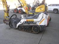 Bobcat MT 50 walk behind loader Great machine for tight