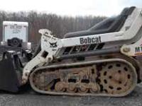 HERE IS A CLEAN LITTLE BOBCAT MT50. ONLY 1100 HRS. RUNS