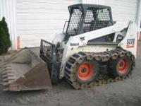 Bobcat S220, 815 hours, excellent condition, one owner.