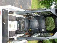 "36"" Bobcat 453F with Kubota diesel engine. Front and"