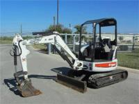 EASTERN EQUIPMENT HAS BOBCAT SKISTEERS AND EXCAVATORS